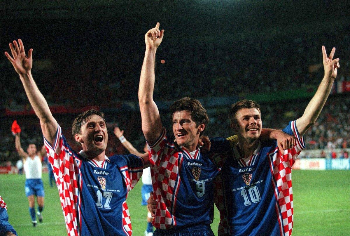 Сборная Хорватии, Чемпионат мира 1998