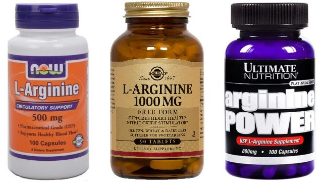 Аргинин в таблетках и капсулах