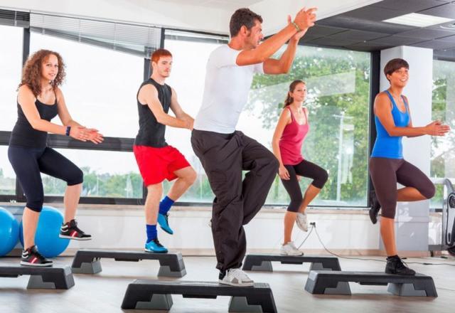 Фитнес для начинающих. Аэробика.