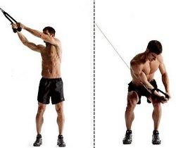 """Как накачать боковые мышцы пресса. Упражнение """"дровосек""""."""