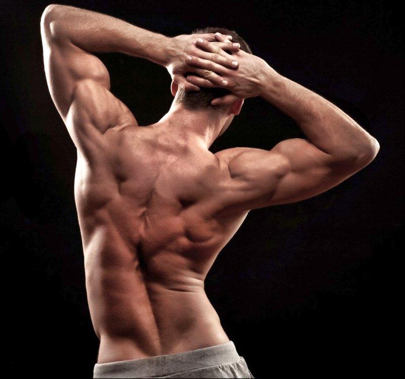 Как накачать мышцы спины в 75