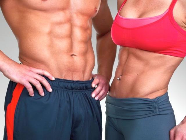 Фото мышц пресса мужчины и женщины. Как накачать нижний пресс