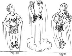 Рисунок: как научиться прыгать высоко