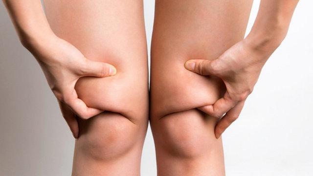Жир на коленях