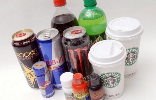 Напитки с кофеином