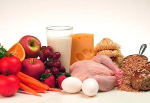 Правильное питание для спортсменов - необходимые продукты