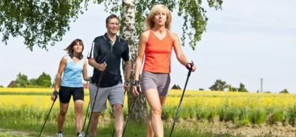 Скандинавская ходьба – шаг к здоровью