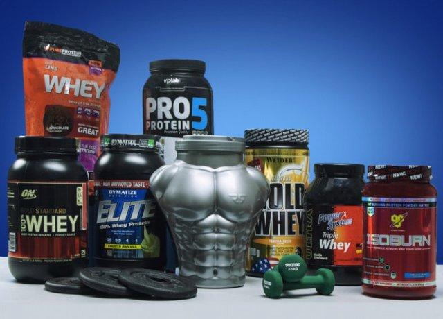 Спортивное питание протеин