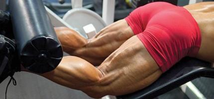Комплекс упражнений на бицепс бедра