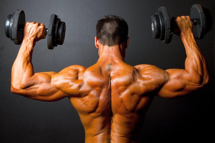 5 лучших упражнений на плечи