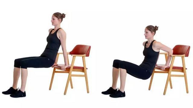Приседания со стулом