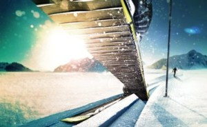 Беговые лыжи для классического стиля с насечками