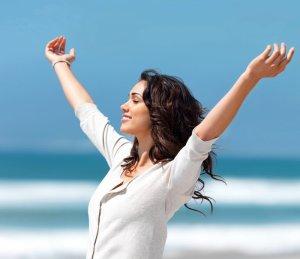 Хорошее настроение и бодрость после утренней зарядки